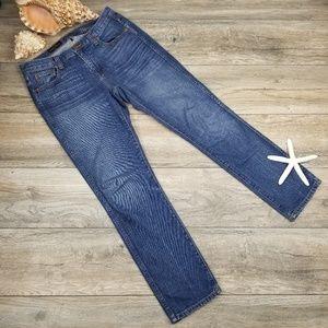 J. Crew Vintage Straight cotton jeans Sz 26 Reg